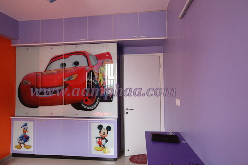 Kids Bedroom Wardrobe Design