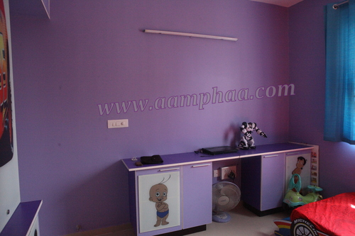 Kidsroom lavender colour study Table Design