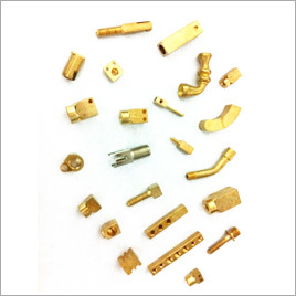 Brass Square Parts