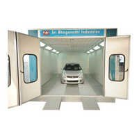 Water Wash Spray Painting Booth