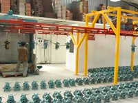 Conveyor Spray Paint Plant