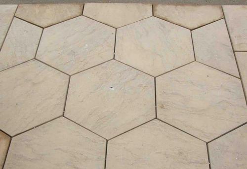 Hexagonal Pavers Block