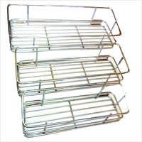 Steel Three Box Racks