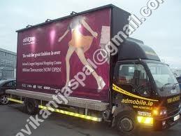 Advertising Mobile Van Building