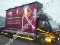Advertising Mobile Van Building