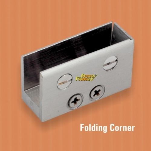 Brass Folding Corner Bracket