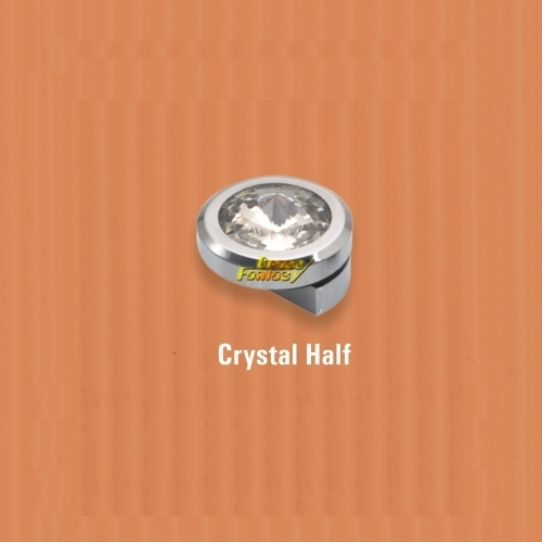 Crystal Half Mirror Bracket