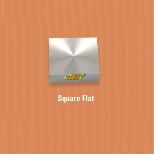 Square Flat Mirror Cap