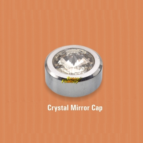 Crystal Mirror Cap