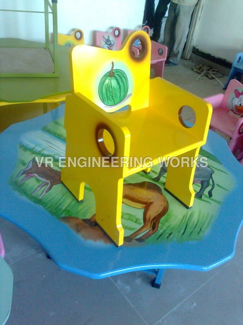 Colourful Kids Play Table