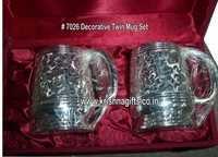 Silver Mug Set