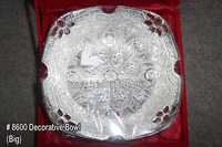Silver Decorative Bowl-Big