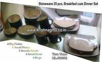 Stoneware - Breakfast cum Dinner Set