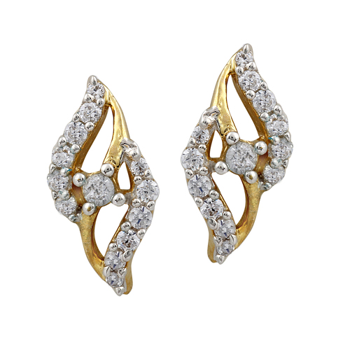 Trendy Diamond Earring
