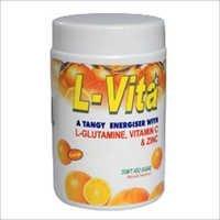 L Glutamine vitamin C & Zine
