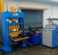 Semi Automatic FlyAsh Brick Making Machine