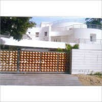 Copper Compound Sliding Gate