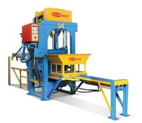 Fully Automatic Stationary Type Concrete Block Making Machine