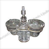 Double Air Valve With Inbuilt Isolating Valve