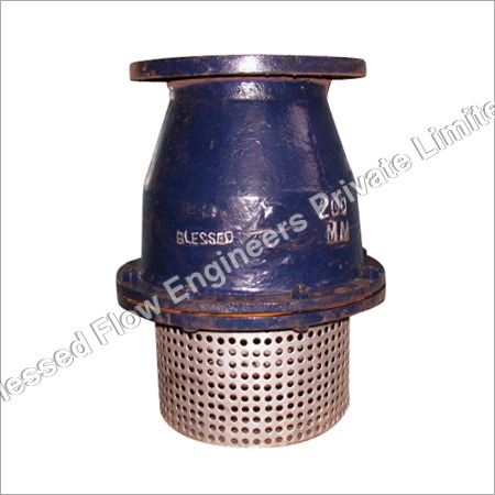 Single Door Swing Type Foot Valve