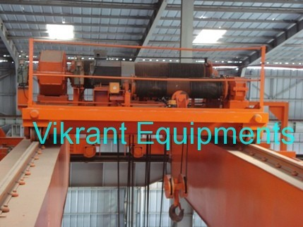 Double Girder Over Head Traveling Crane
