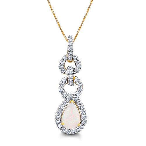 Sleek and Stylist Diamond Pendant