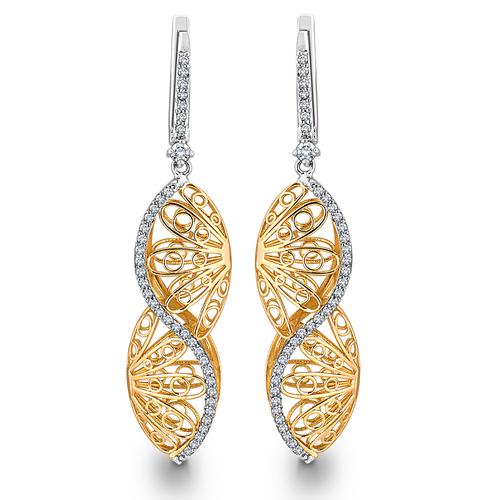 Elegant Diamond Earring