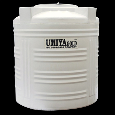 White 3 Layer Water Tanks