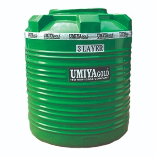 3 Layer Green Water Tanks