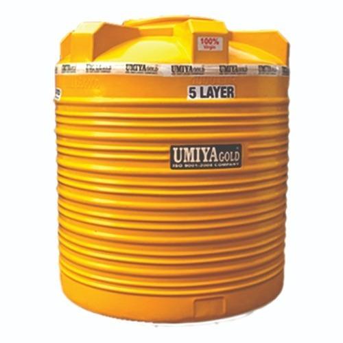 5 layer Umiya Gold Water Tanks