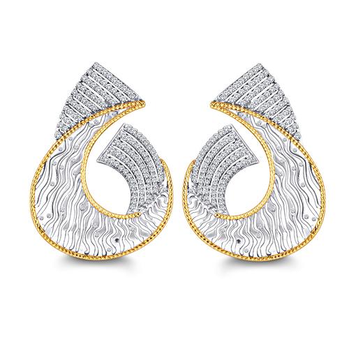 Fancy Diamond Earring
