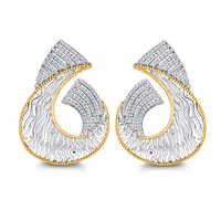 Fancy Diamond Earring