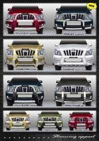 MAHINDRA XYLO FRONT GUARDS