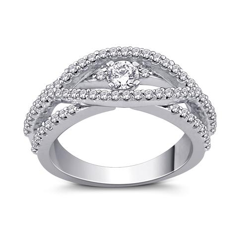 Mordern and terndy Diamond Ring