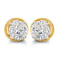 Designer Solitaire look Earring