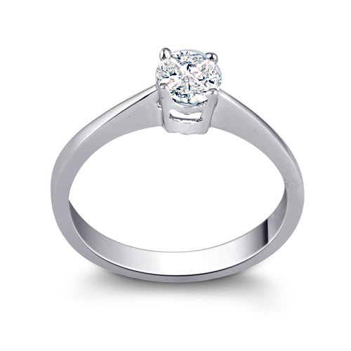 Solitaire Look Diamond Ring