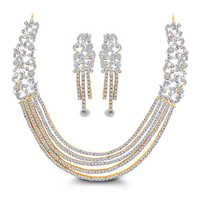 Sparkling and Adorable Diamond Necklace Set