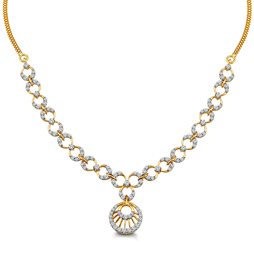 Glittering Sparkle Necklace