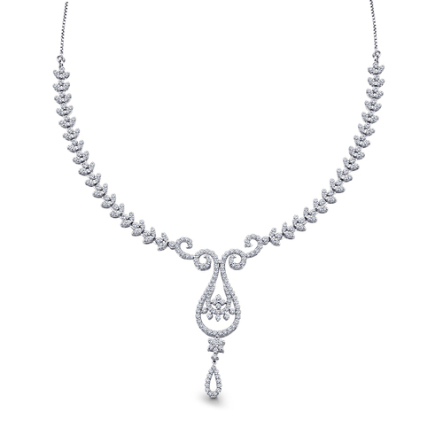 Designer And Trendy Diamond Necklace