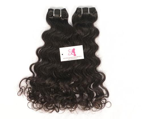 Machineweft curly hair
