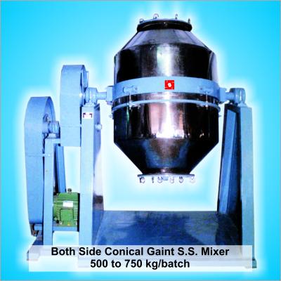 Gaint Conical Dry color Plastic Granules Mixer