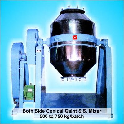 Gaint Conical Dry color Plastic Granules Mixer