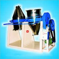 Double Drum Dry Color Conical Mixer