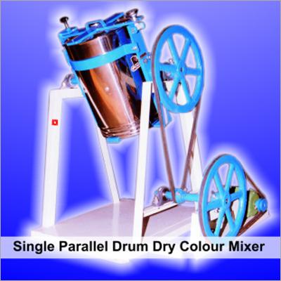 Parallel Drum Dry Color Mixer Machine