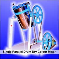 Parallel Drum Dry Color Mixer Machine