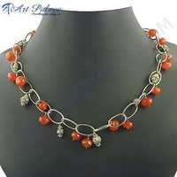 2013 Hot Sale Loose Gemstone Necklace Jewelry For Women's