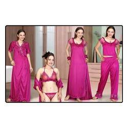 Colored Six Piece Nighties