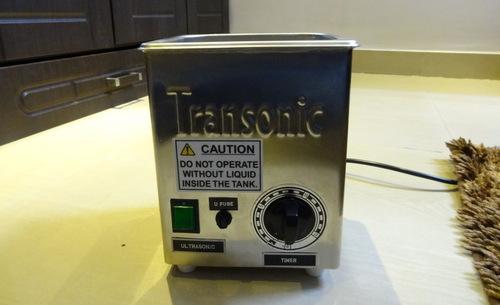 Ultrasonic Wrist Watch Cleaning