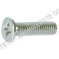 Cross Recessed Countersunk Head Screws