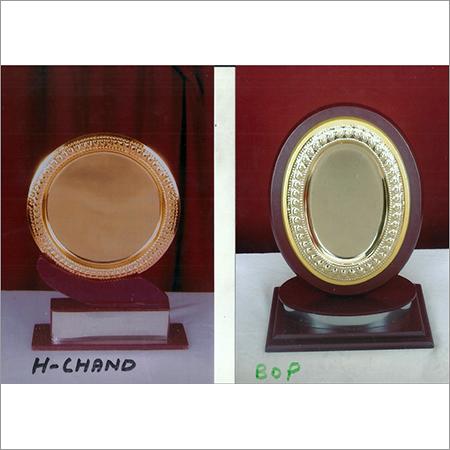 Plaque Wooden Trophy